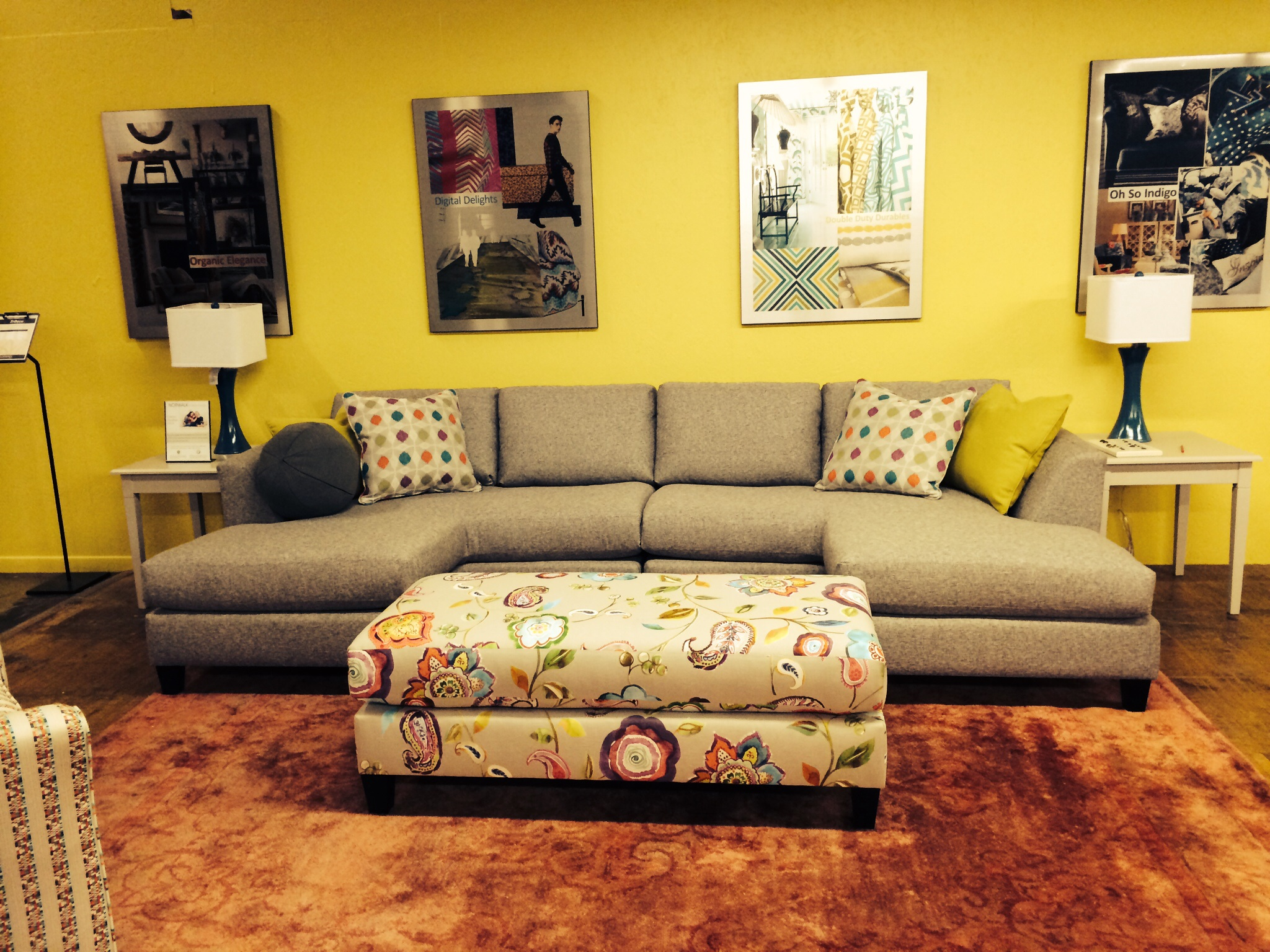A visit to Norwalk Furniture to explore the spring forecast and ...